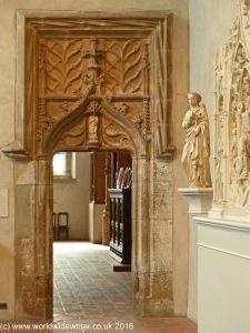 Medieval doorway