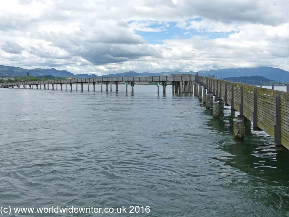 Wooden bridge of Rapperswil