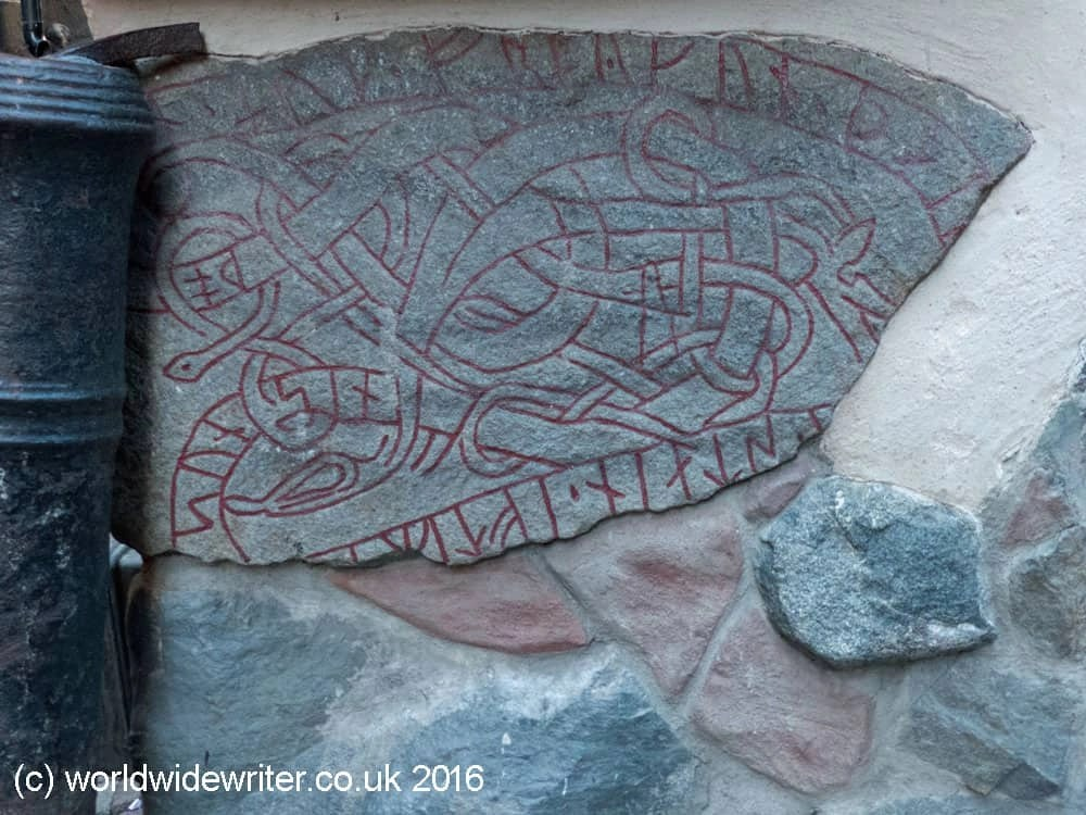 Rune stone in Stockholm