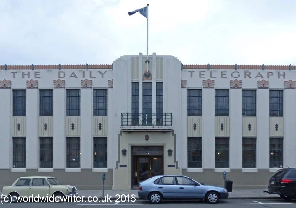 Daily Telegraph Building, Napier