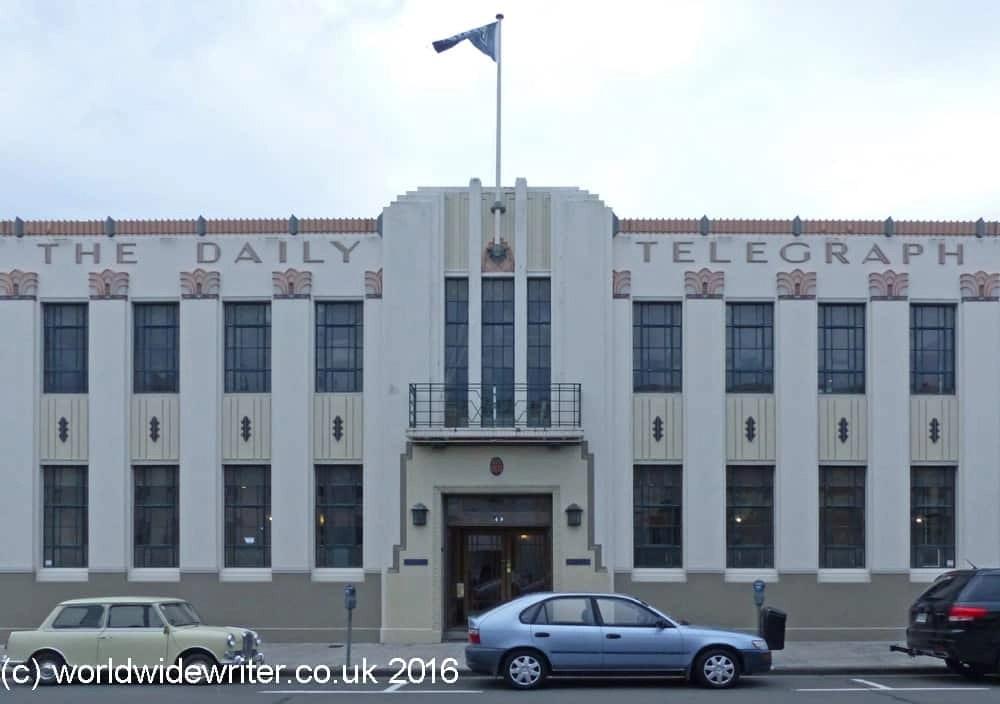 Daily Telegraph Building, Napier, New Zealand