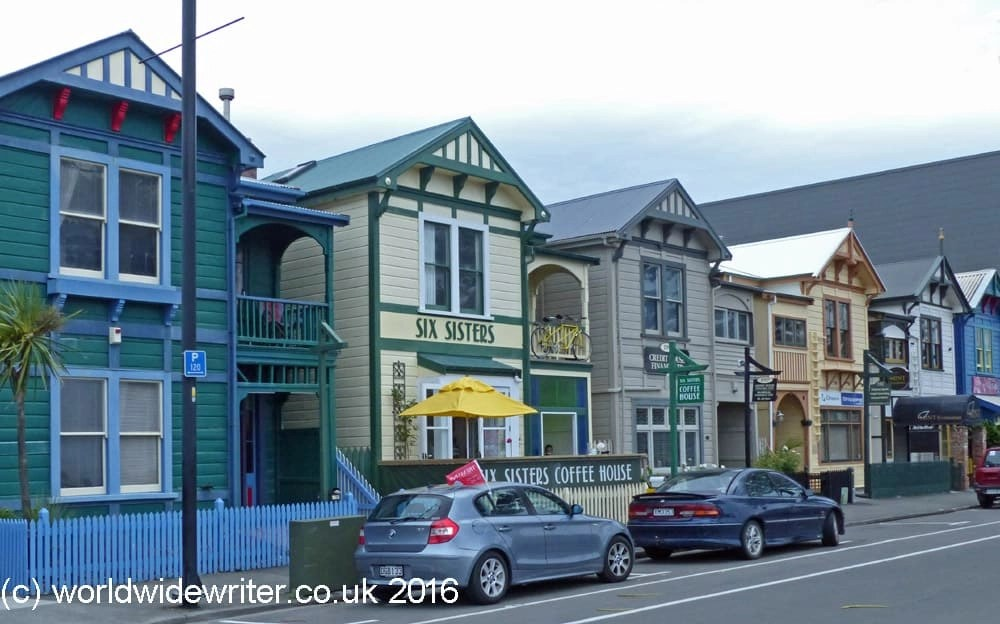 Six Sisters, Napier, New Zealand