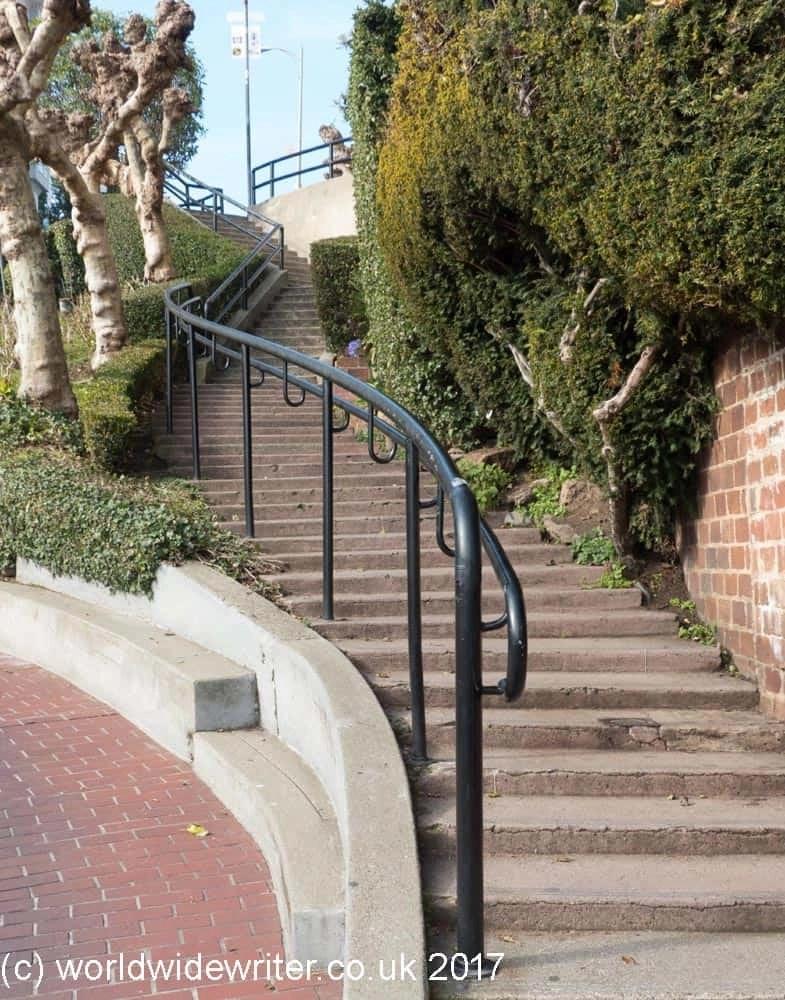 Lombard Street Steps, San Francisco