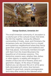 Armenian art, Jerusalem