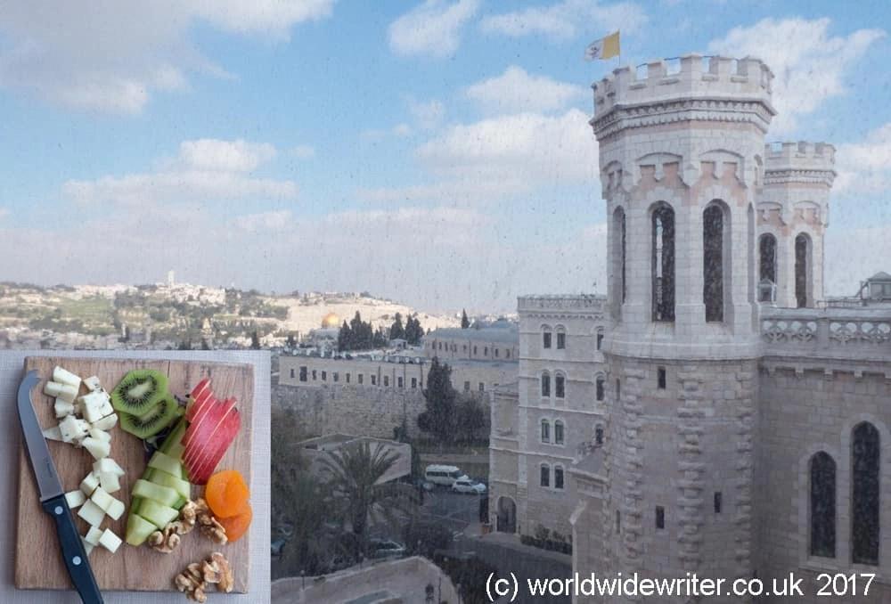 Notre Dame Rooftop, Jerusalem