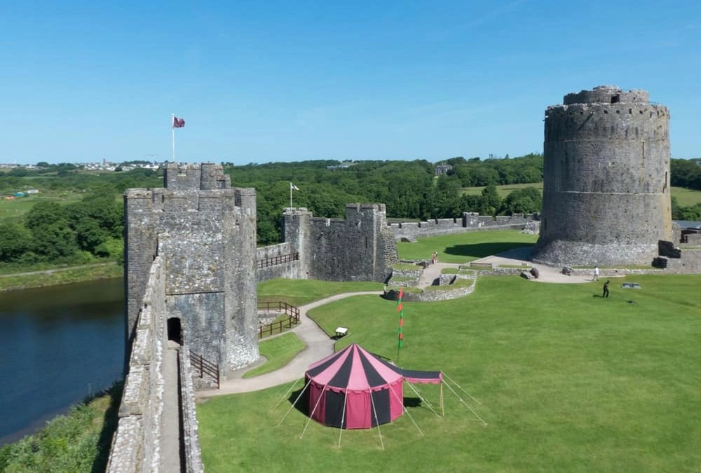 Exploring the History of Pembroke Castle, Wales