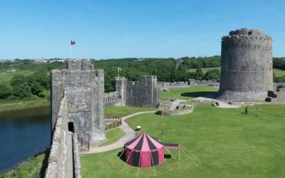 Exploring the History of Pembroke Castle, Wales