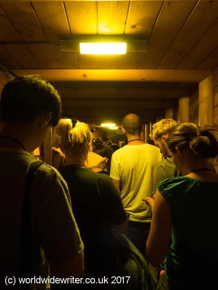 Inside the Wieliczka salt mine