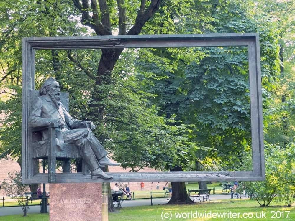 Sculpture in the Planty, Kraków