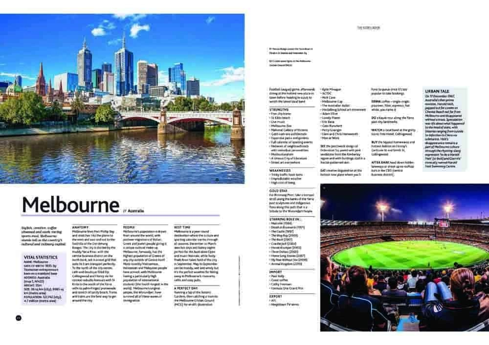 Cities Book - Melbourne