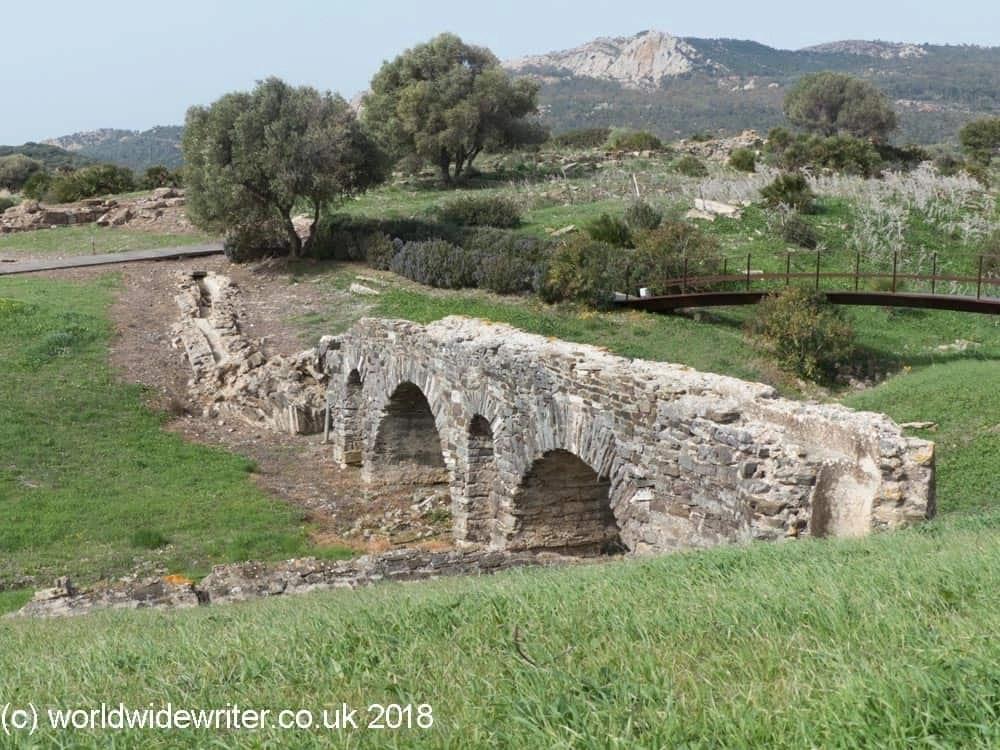 Aqueduct, Baelo Claudia, Spain