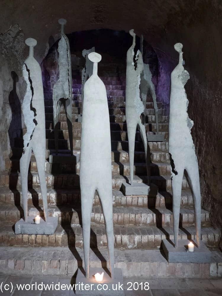 Sculptures in Litomyšl Castle