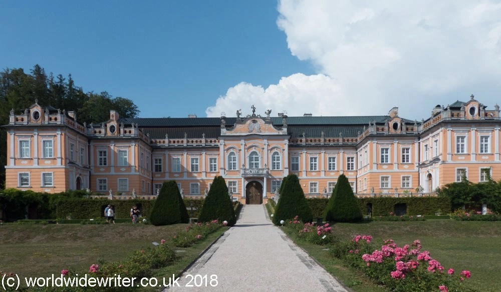 "Nové Hrady, the ""Czech Versailles"" in East Bohemia"