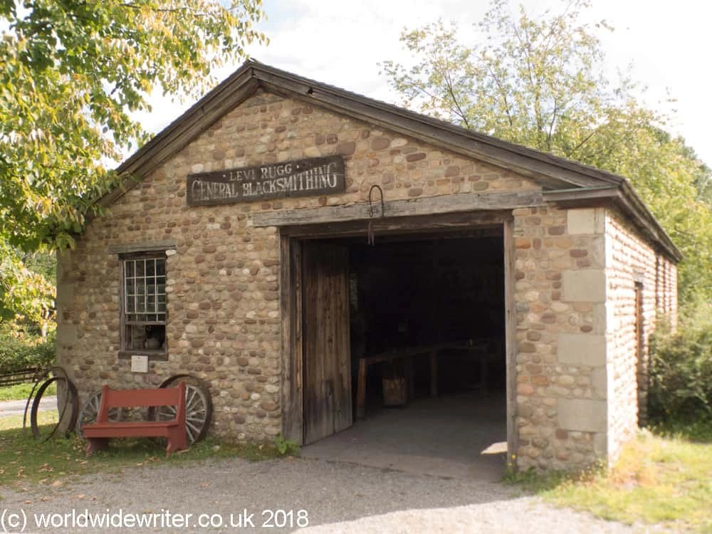 Blacksmith shop, Genesee Country Village, Rochester NY