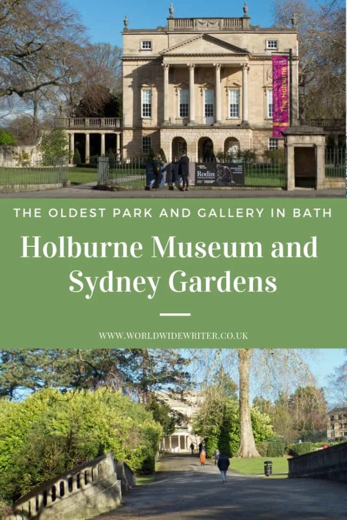 Holburne Museum and Sydney Gardens, Bath