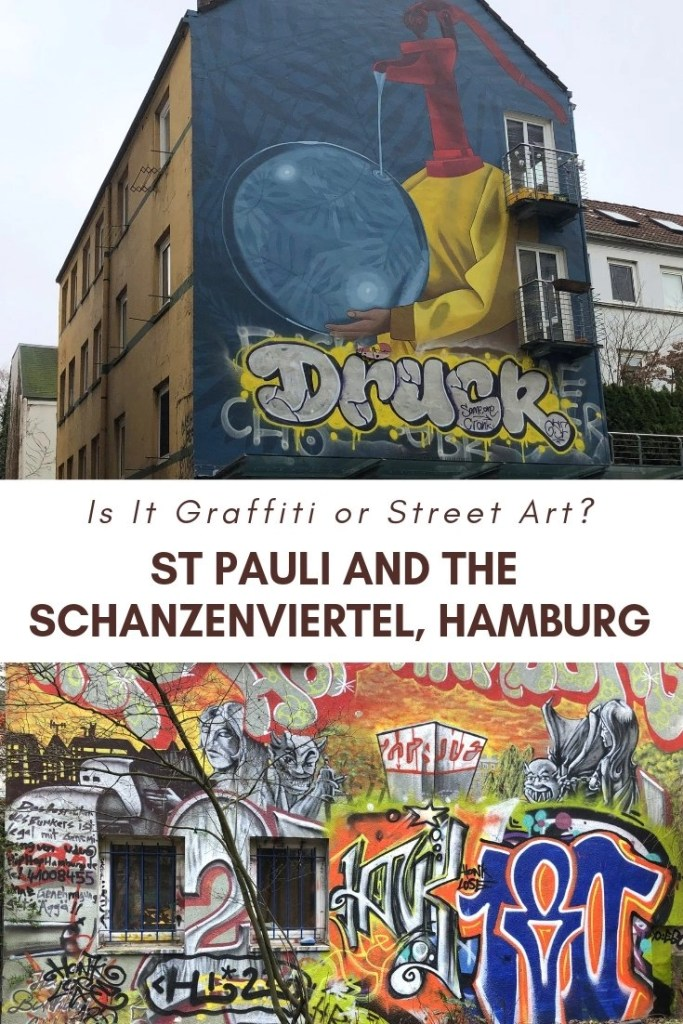 Street art of St Pauli and the Schanzenviertel