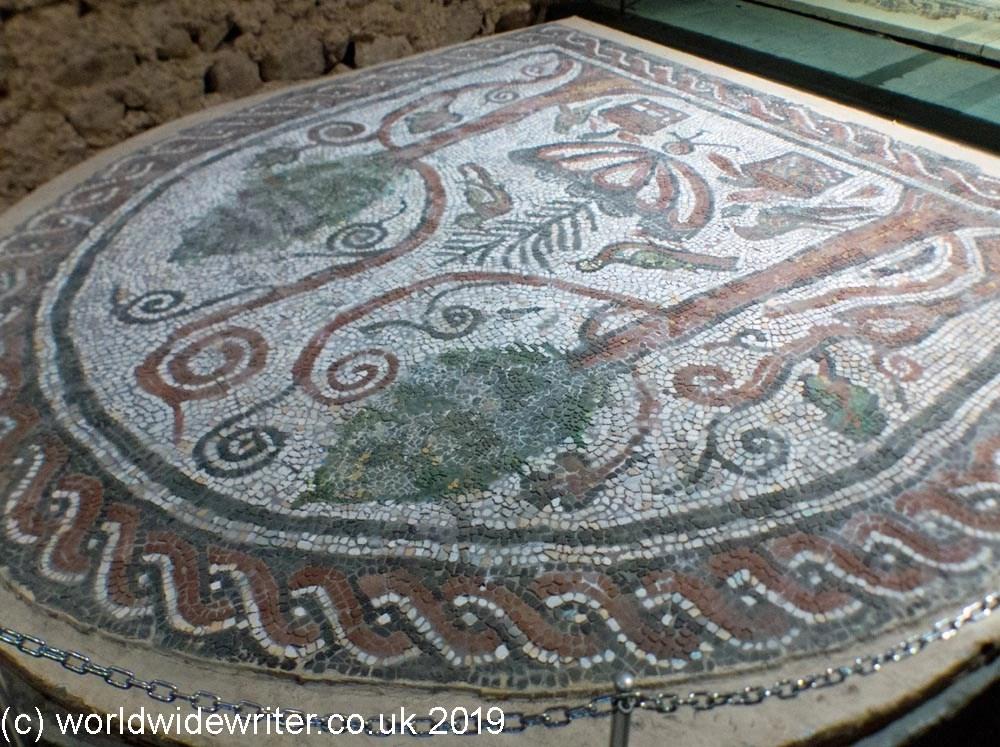 Mosaic floor, St Sofia Church, Sofia