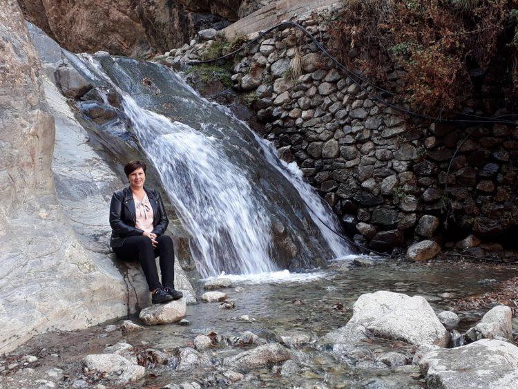 Watervallen atlasgebergte marroko