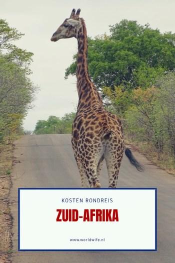 Lees alles over de kosten voor een rondreis door Zuid-Afrika in dit blog