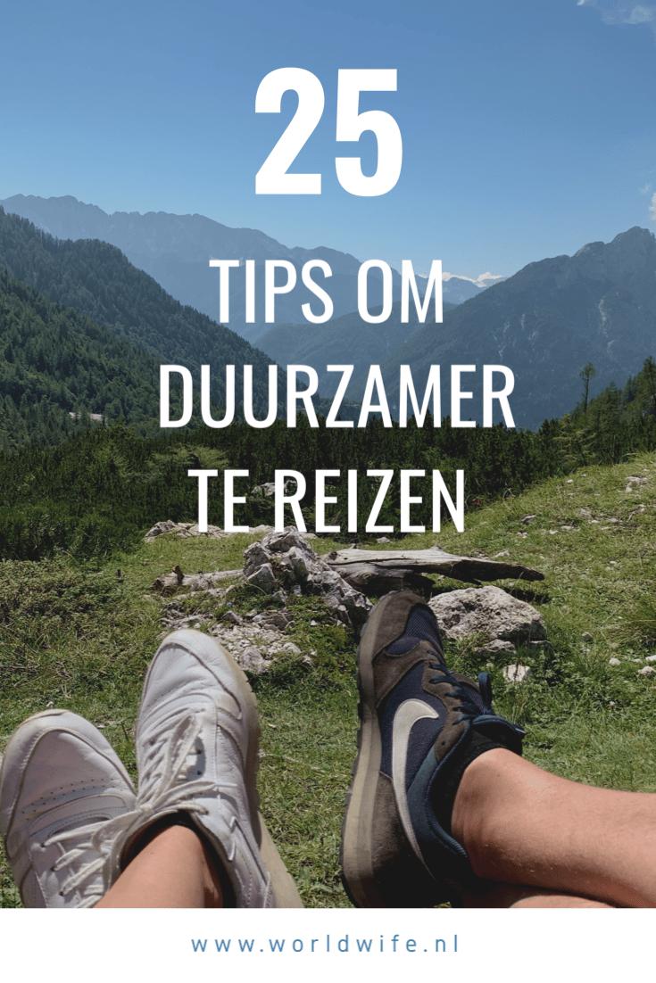 25 tips om duurzaam te reizen