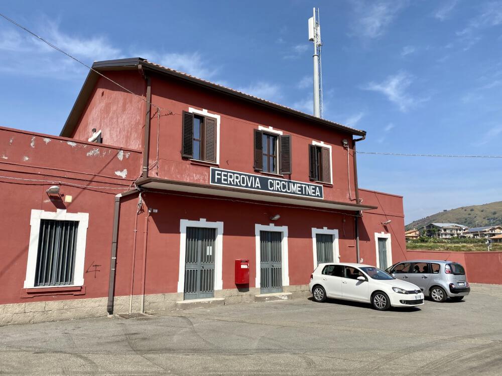 Station Piedimonte Etneo