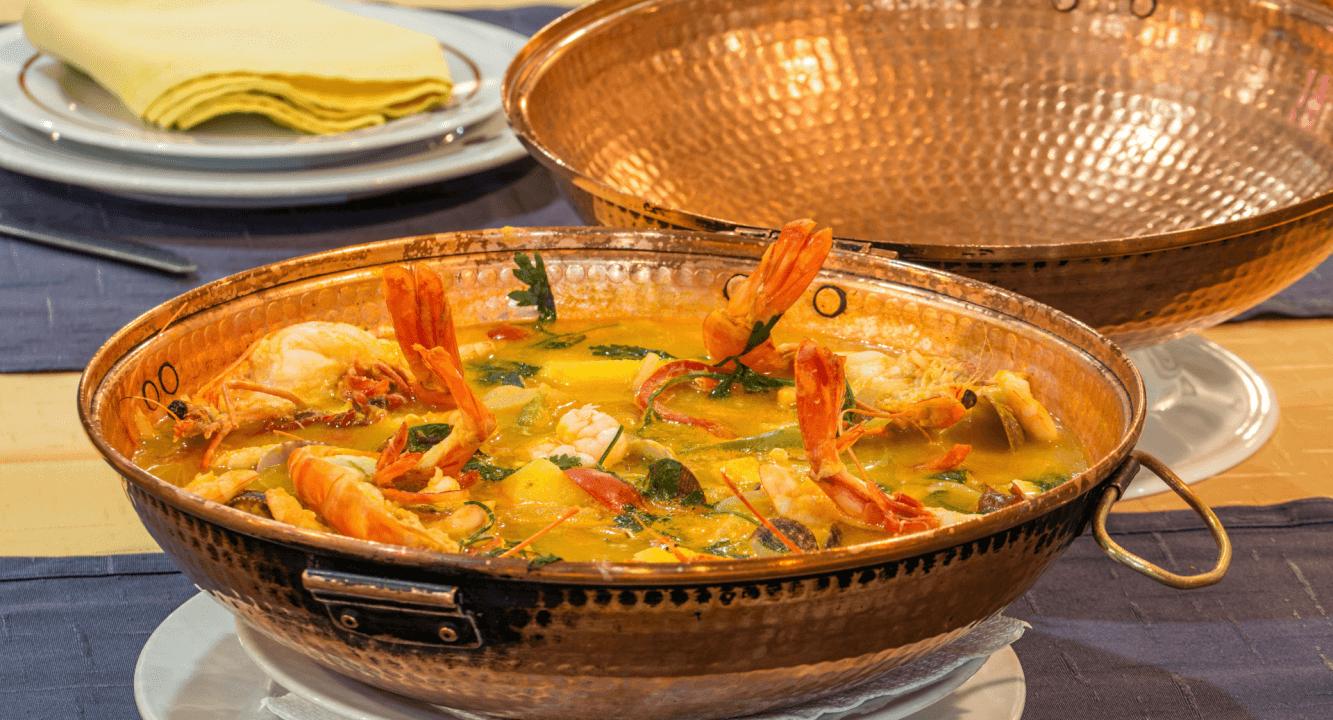 Haal de smaak van Portugal in huis met dit recept voor cataplana de marisco #wereldgerecht