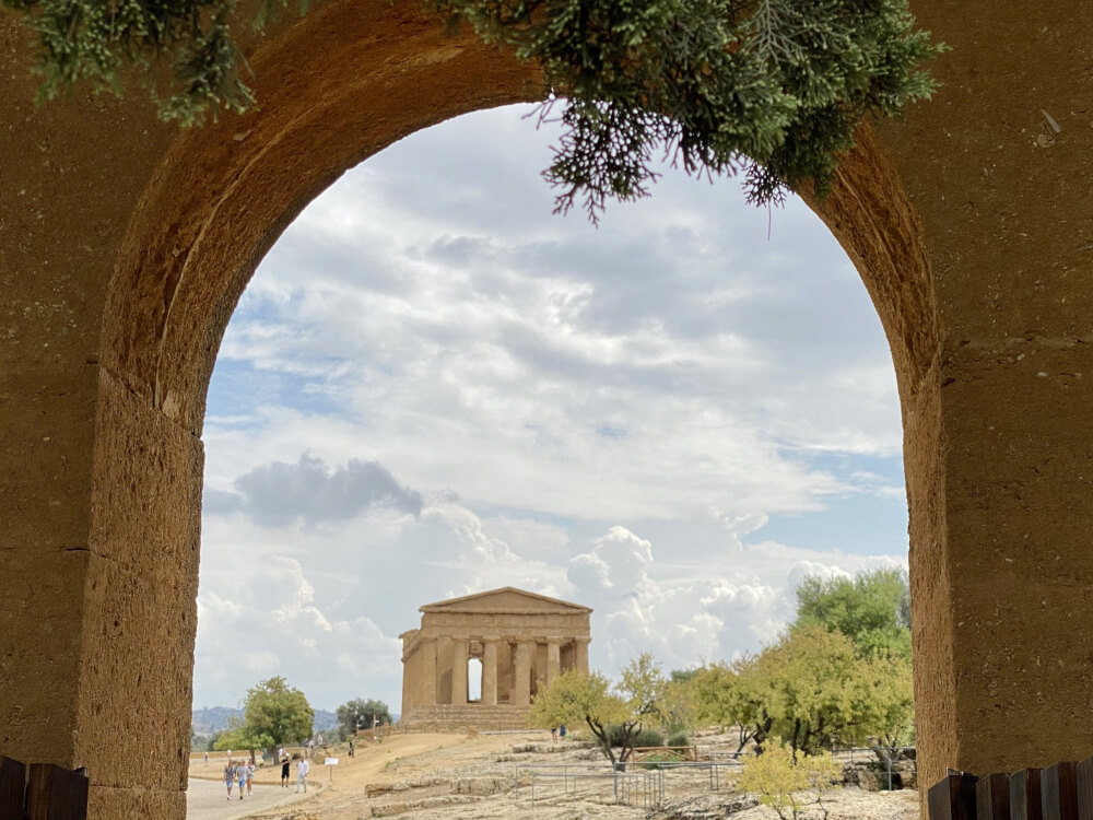 Tempel Valley Sicilië