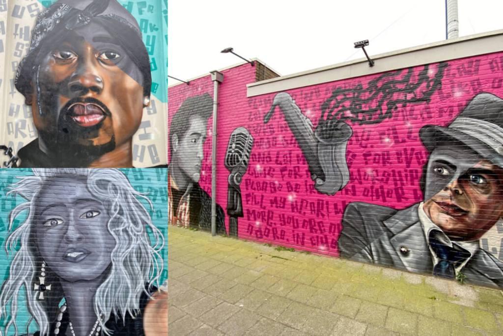 Street art in Boxtel, Noord-Brabant