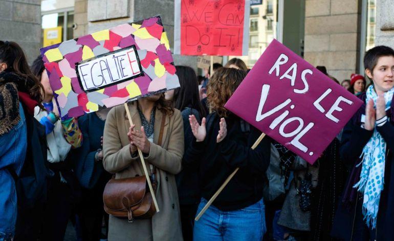 """Ras le viol"" © Malika Barbot / Worldzine"