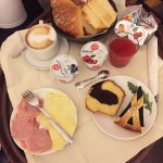 Breakfast in Bed | Bellesuite Rome Hotel | Rome | Italy