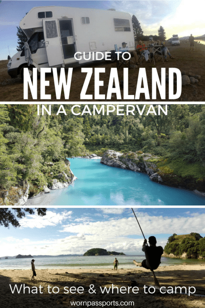New Zealand Itinerary for 2 weeks driving through both islands: best activities, restaurants & campervan camp sites. | wornpassports.com