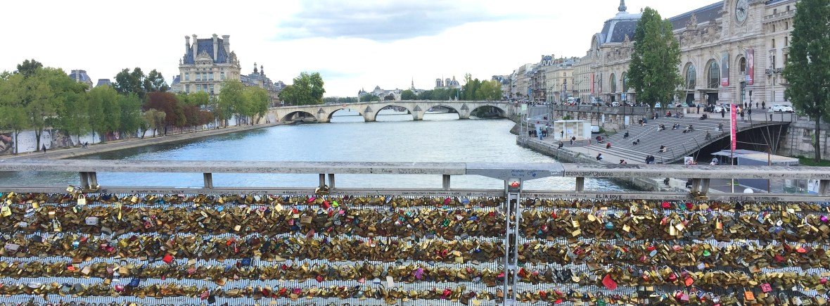 Love locks on the Seine River | Sample itinerary for 3 days in Paris, France