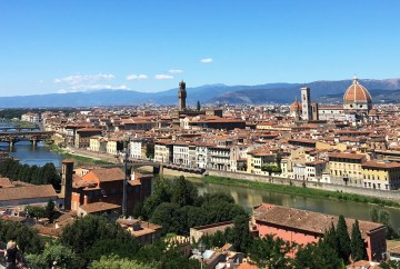 View of Florence from Piazzle Michelangelo | Travel guide to visit Florence & Tuscany, Italy