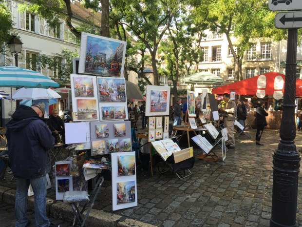 Place du Tertre | Montmartre | Paris | France