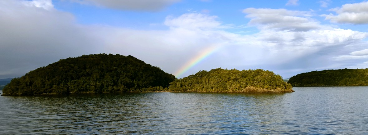 Rainbow over Te Anau | New Zealand Itinerary for 2 weeks in a campervan