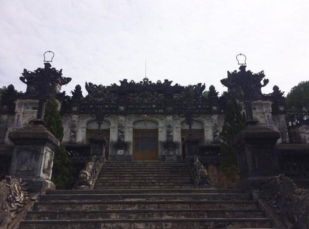 Tomb of Emperor Khai Dinh | motorbike tour | Hue | Vietnam