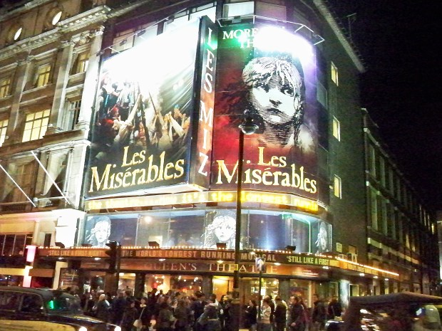 Les Miserables | Queen's Theater | West End | London | England