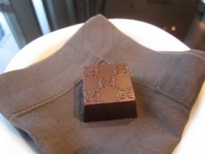 Gucci chocolate