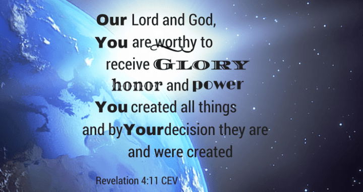 Image result for Revelation 4:11