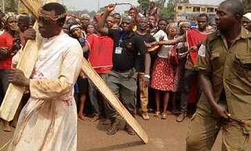Photo of Nigerian Priest Embarks on 'Passion of Christ' After 3days Dry Fasting [PHOTOS+VIDEO]