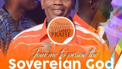 Photo of Join @PastorEAAdeboye to praise the #SovereignGod at #75hourspraise