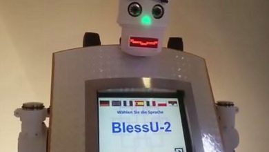 "Photo of German Church Sponsors Development Of ""Robot Priest"""