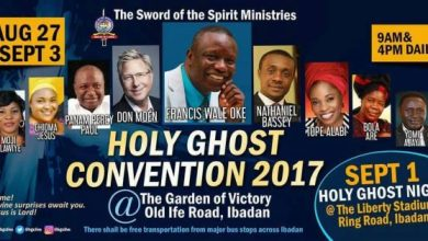 Photo of Holy Ghost Convention 2017 Feat. Don Moen, Frank Edwards & Panam Percy Paul | August 27th – Sept 3rd