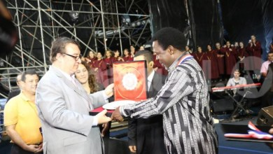 Photo of Paraguayan Government Presents TB Joshua With Order Of Merit