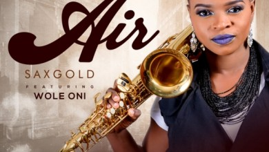 Photo of Air by Sax Gold @saxgoldofficial Ft. Wole Oni