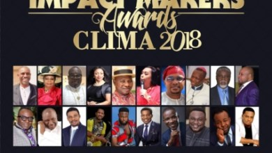 Photo of #News: CLIMA AWARDS 2018 Set For 19th August In Lagos