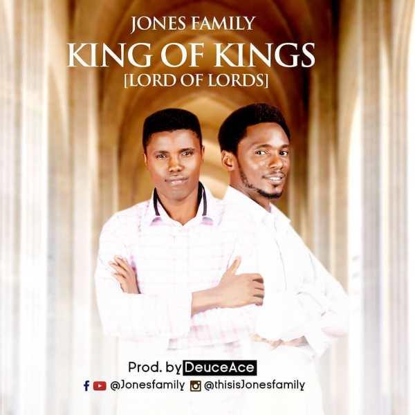 |King Of Kings By Jones Family