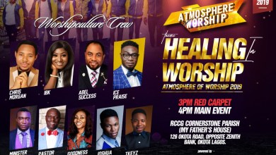 Photo of [Event] Atmosphere Of Worship 2019 Set For 10th November 2019
