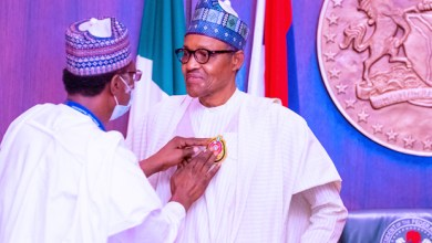 Photo of President Buhari Launches 2021 Armed Forces Emblem Fund.