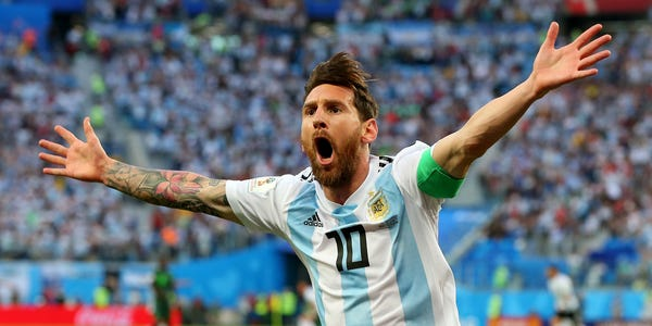 Photo of My Goal Now Is To Win The World Cup — Lionel Messi.